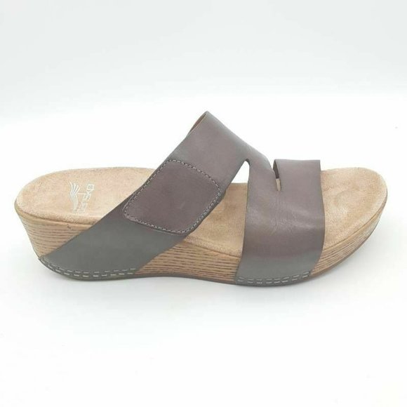 Lacee Burnished Calf Sandals Brown 38